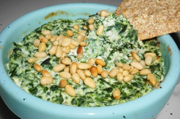 Baked spinach web (2)
